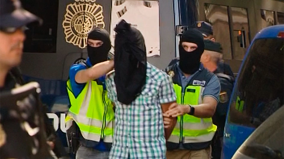 186 presuntos yihadistas detenidos en España desde 2015