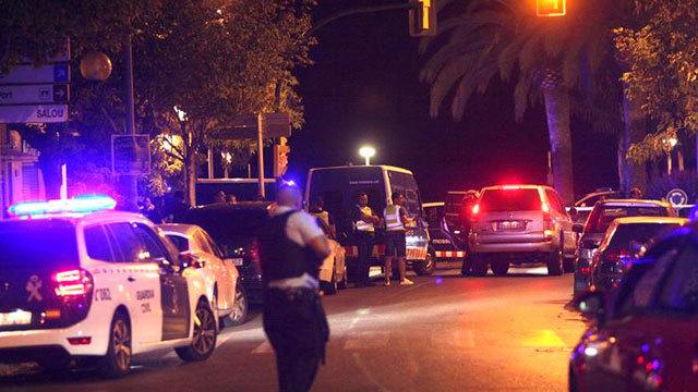 Cinco terroristas muertos en Cambrils en otro atentado