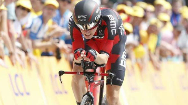 El BMC pone el primer maillot rojo a Rohan Dennis