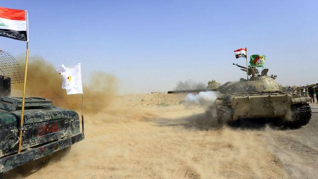 Las fuerzas iraquíes avanzan y arrebatan tres localidades al EI en Tel Afar
