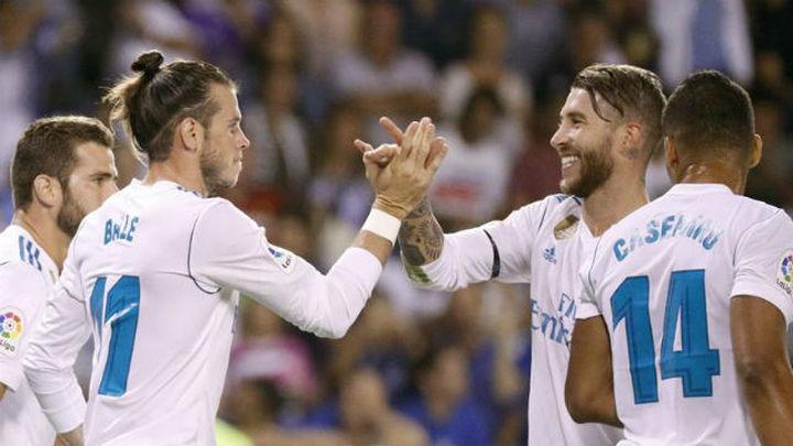 El Madrid comienza otra liga con liderato y goleada ante el Dépor