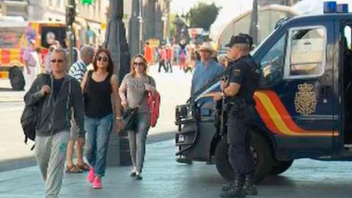 La Policía investiga una posible conexión de la célula terrorista con Madrid