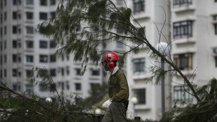El tifón más dañino de la temporada deja al menos 16 muertos en China