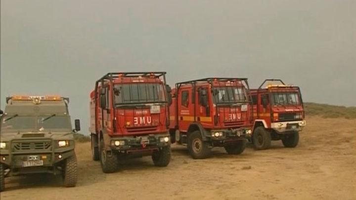 El incendio de Encinedo (León) arrasa 8.000 hectáreas y avanza sin control