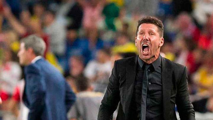 """Simeone: """"Fuimos muy contundentes en el arranque, con mucha ambición"""""""