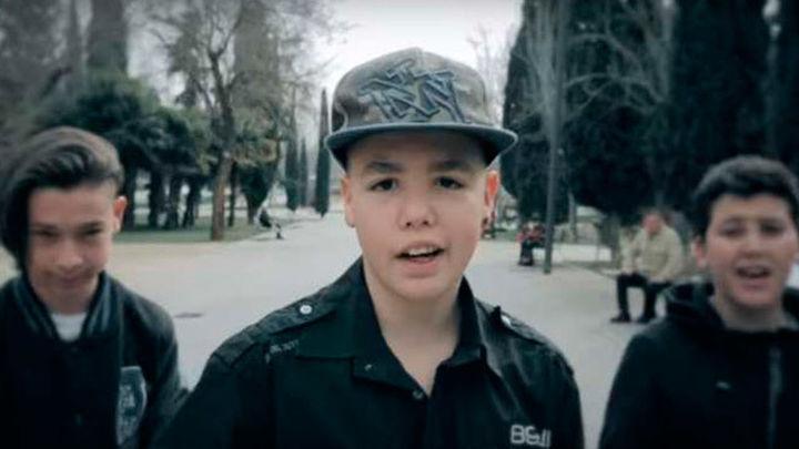 Niños de La Fortuna reivindican su barrio a ritmo de rap