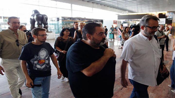 Admitida a trámite otra demanda por los servicios mínimos en la huelga de vigilantes en Barajas