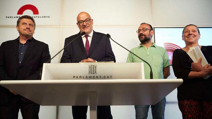 JxSí y la CUP aprobarán la 'ley de ruptura' antes del referéndum del 1-O