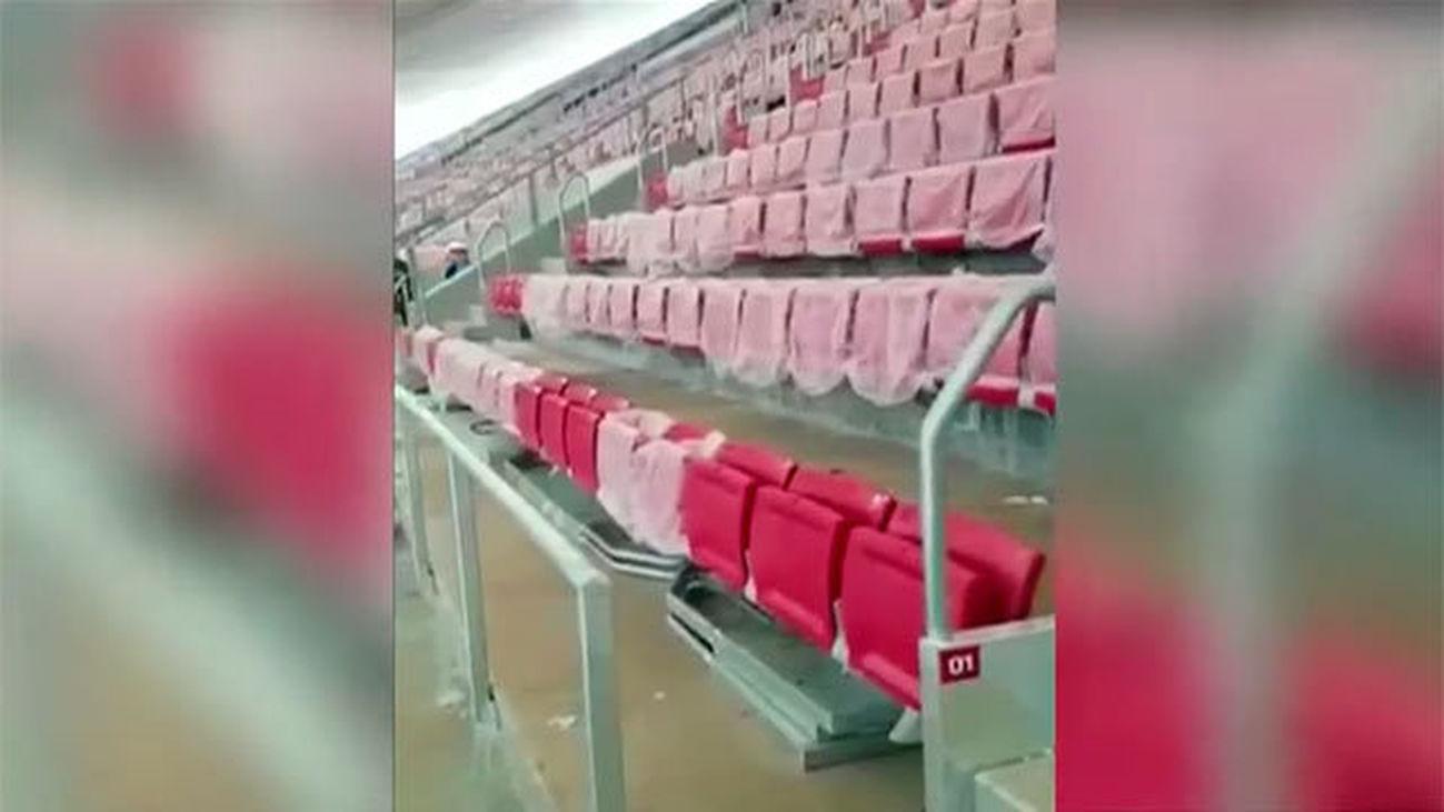 El Wanda Metropolitano hace aguas