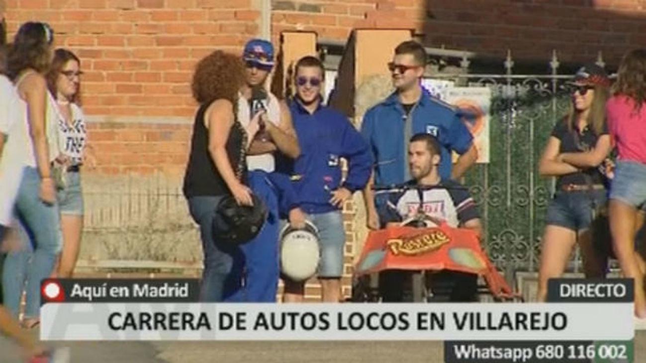 Autos locos en Villarejo de Salvanés