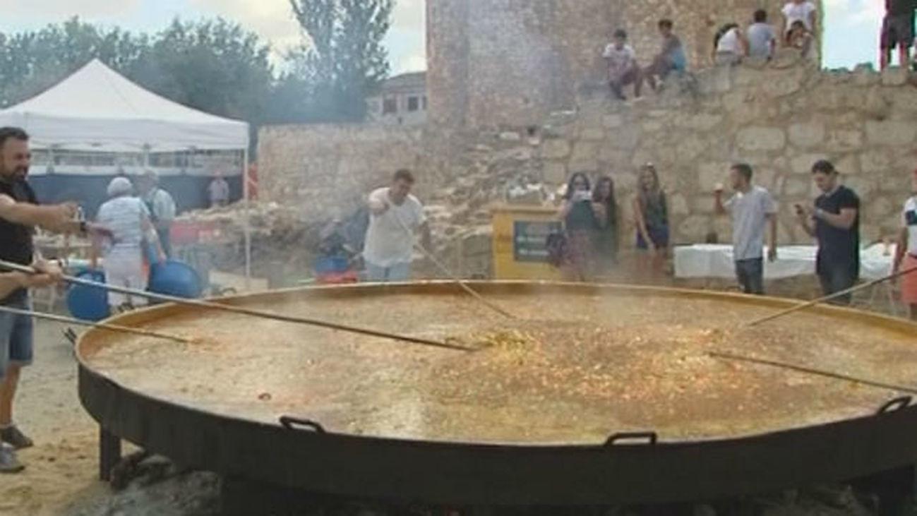 La paella más grande de Madrid