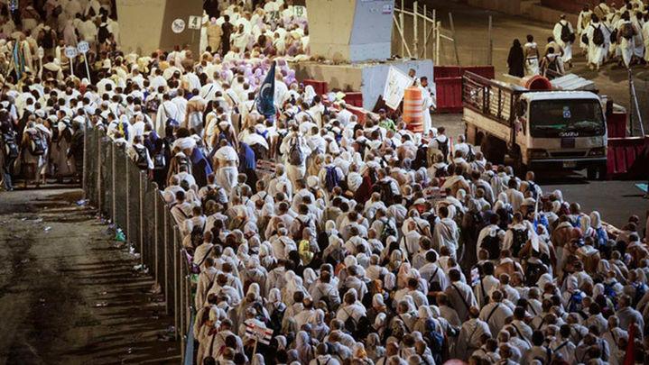 Más dos millones de fieles  celebran en la Meca la fiesta del sacrificio
