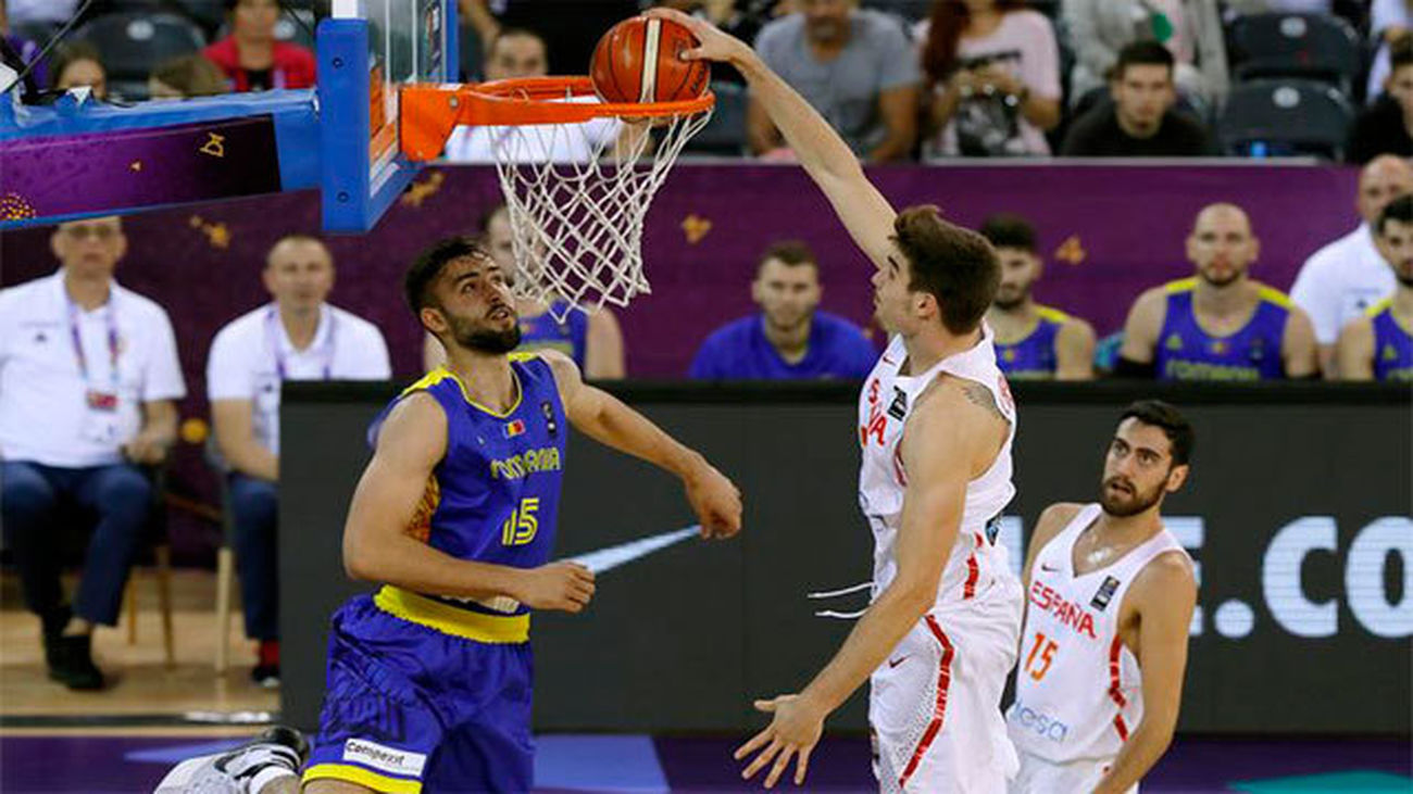 91-50. España se impone a Rumanía