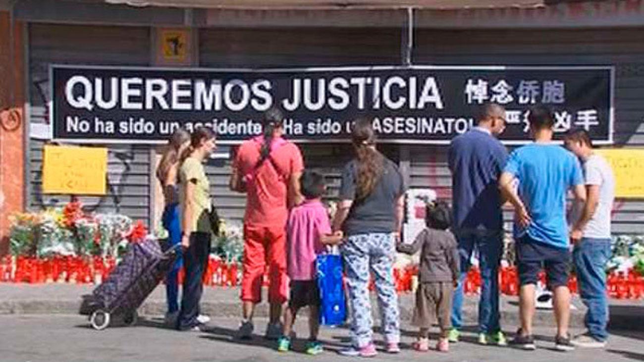 Vecinos y familiares del niño atropellado en Usera reclaman justicia