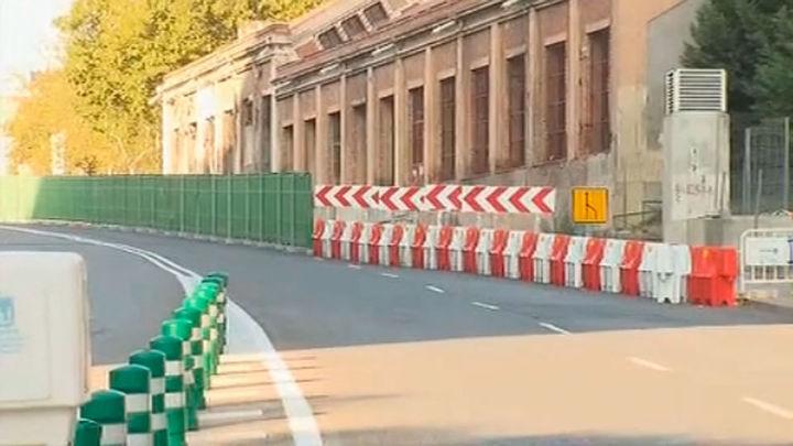 Cerrado el túnel del Planetario por riesgo de caída de elementos a la vía