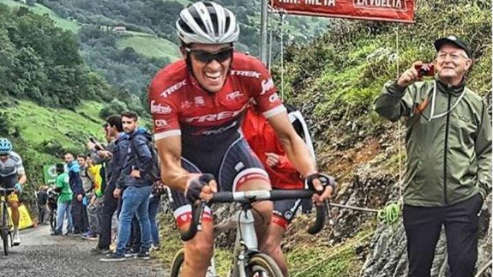 Denifl conquista Los Machucos ante un Contador valiente y Nibali 'muerde' al líder Froome