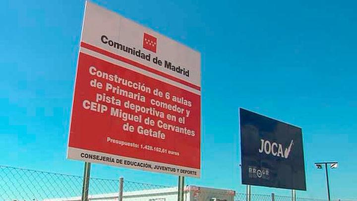 CCOO denuncia el 'caos' por obras en 19 colegios de la región