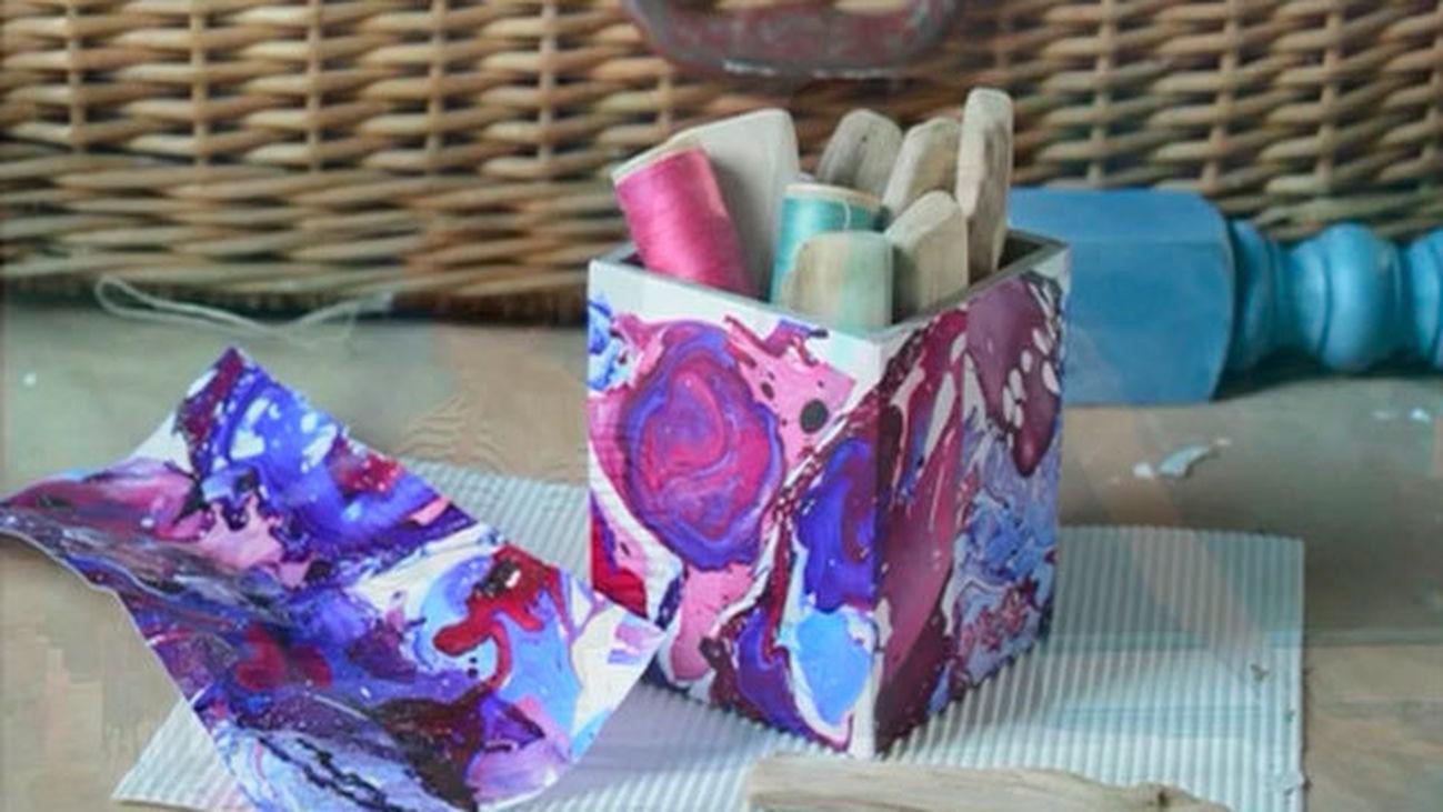 Convierte material reciclado en originales objetos de decoración