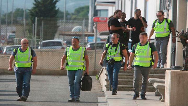 La Guardia Civil registran una imprenta de de Constantí (Tarragona)  por el 1-O