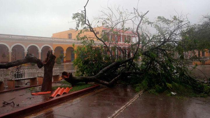 Irma azota sin descanso ciudades patrimoniales del centro de Cuba