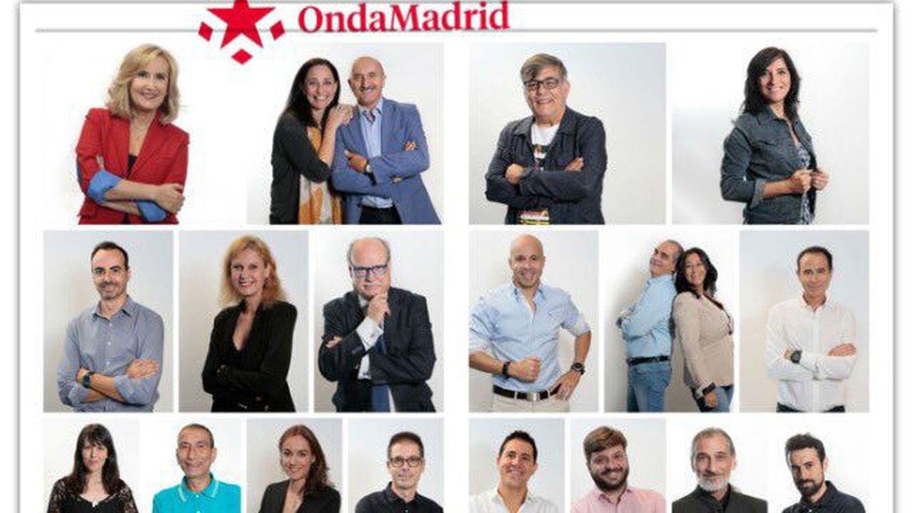 Presentadores Onda Madrid