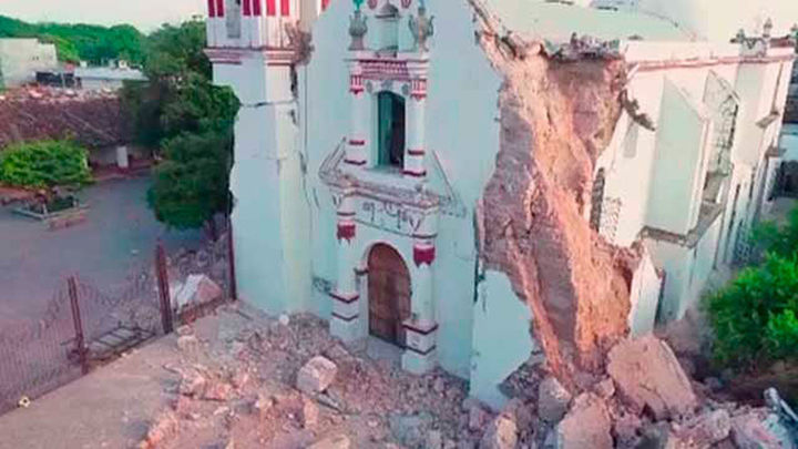 México se enfrenta a la reconstrucción tras el terremoto que deja 90 muertos