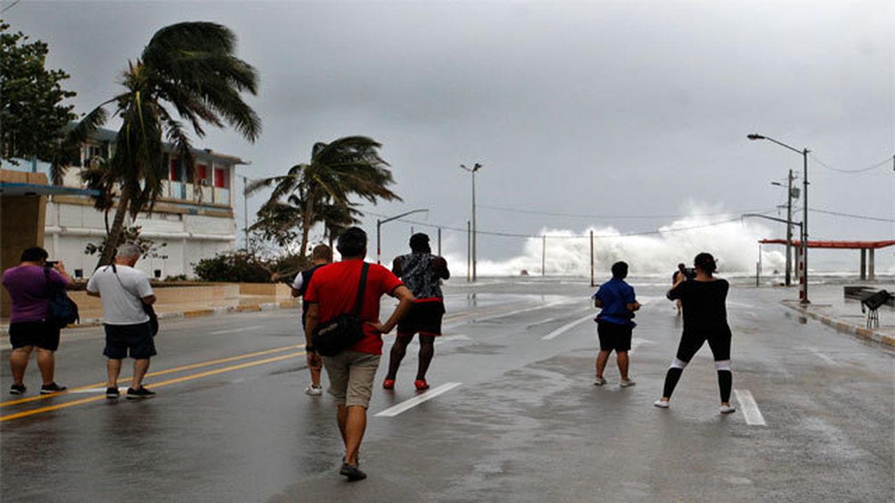 Devastación del huracán Irma
