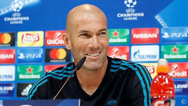 """Zidane: """"Puede ser que nos falte un 9..."""""""