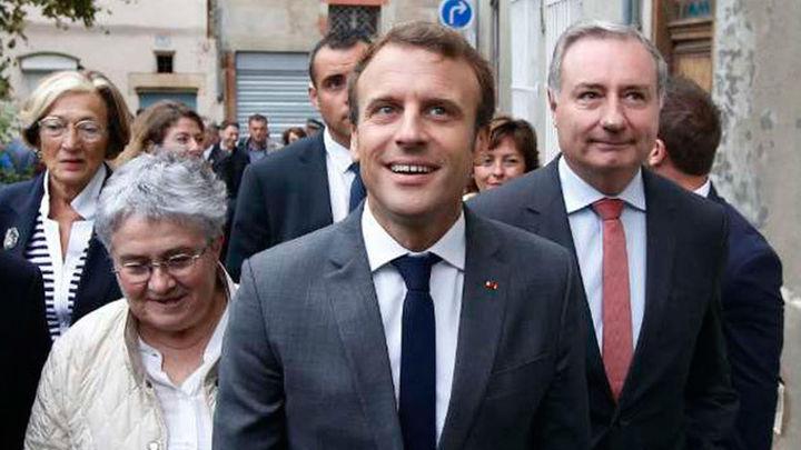 Macron se enfrenta a su primera huelga general contra la reforma laboral