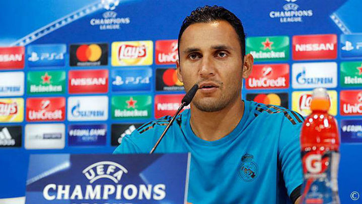 """Keylor: """"Las ganas y ambición de Cristiano son importantes para el equipo"""""""