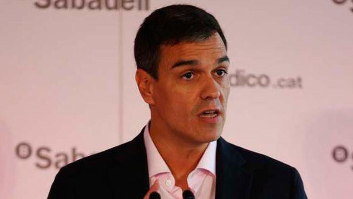 Pedro Sánchez defiende la aplicación del 155 ante la amenaza  de secesión