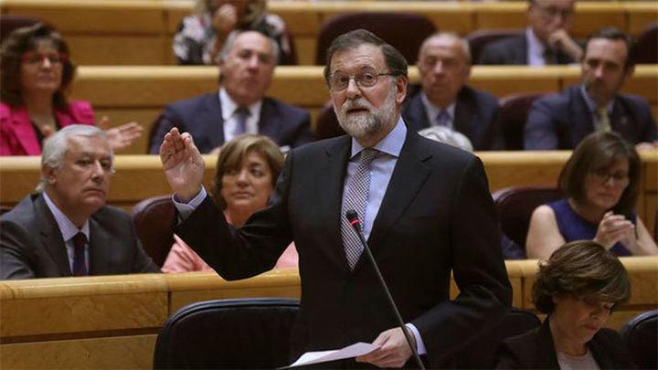 """Rajoy llama a la unidad contra los """"planteamientos totalitarios y antidemocráticos"""""""