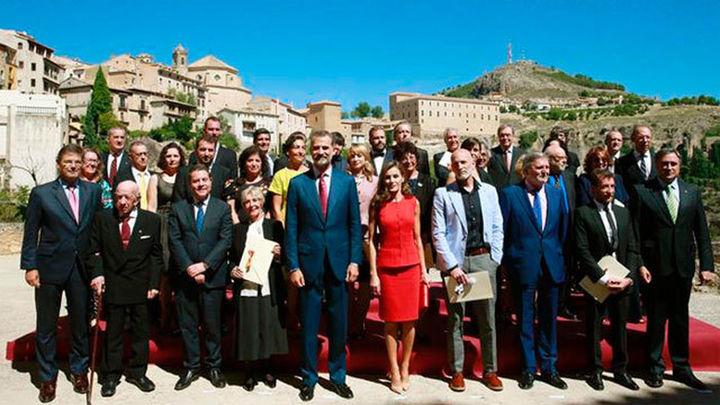 """El Rey elogia la contribución de la cultura a la """"cohesión y unidad"""" de España"""