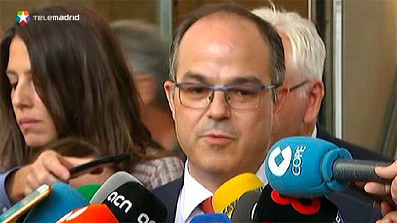 El conseller de Presidencia y portavoz de la Generalitat, Jordi Turull