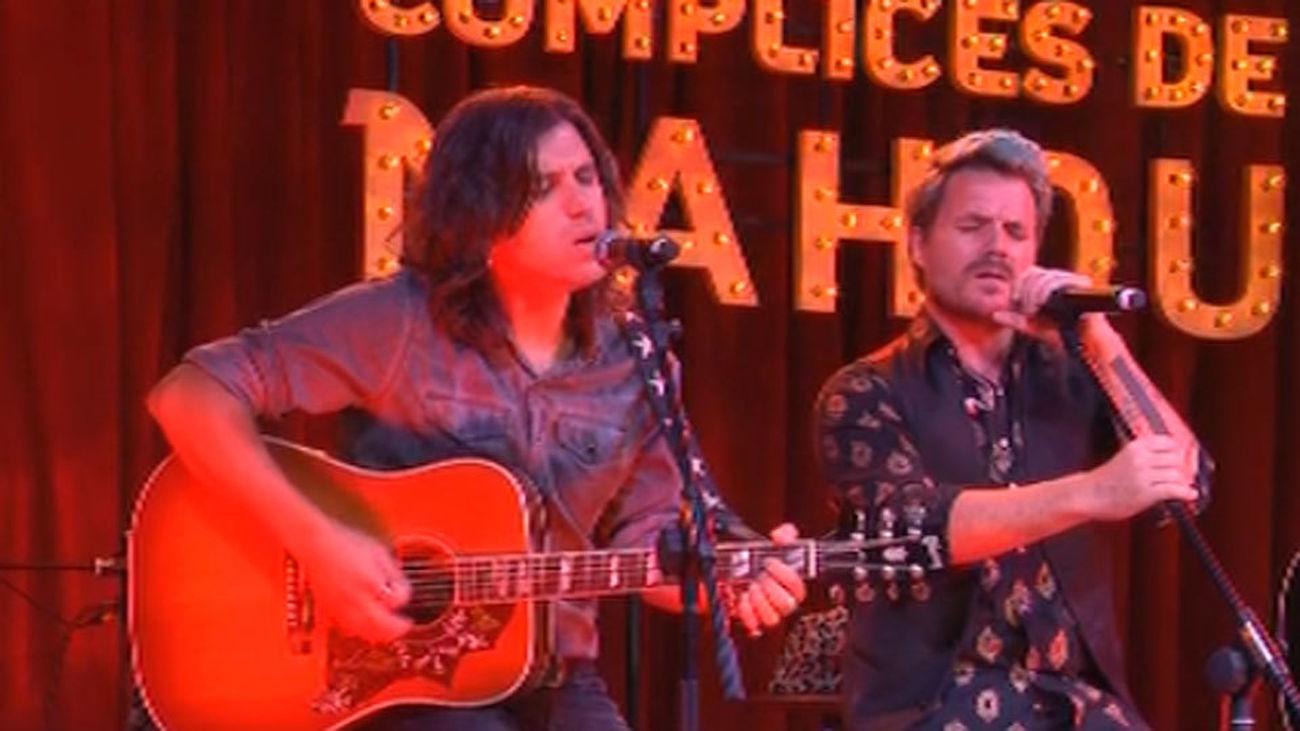 Dani Martín, junto a Rulo y su Contrabanda, abren la gira 'Cómplices de Mahou'