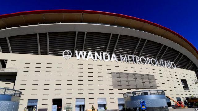 Resultado de imagen de wanda metropolitano exterior