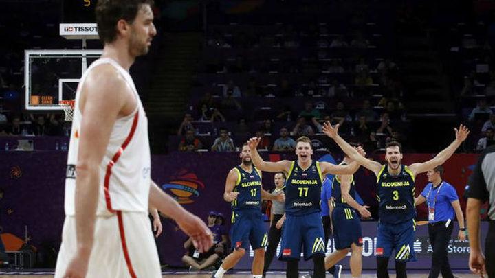 72-92. España no puede con una gran Eslovenia y se queda sin final