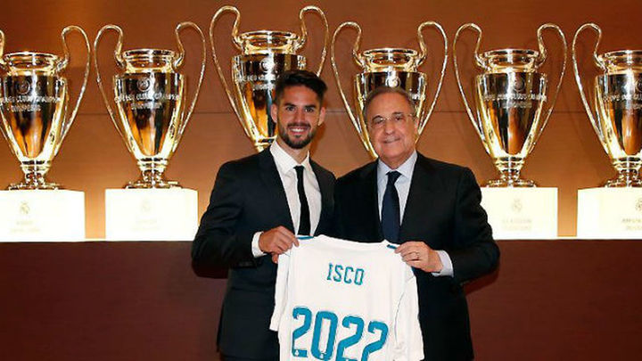 """Isco: """"Lo pasé mal, pero nunca me planteé irme del Madrid"""""""
