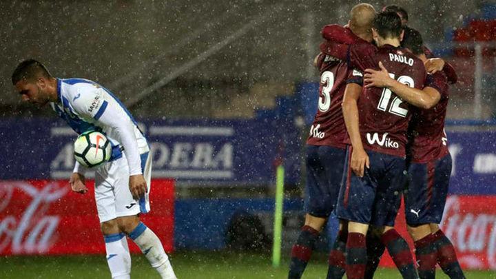 1-0. El Eibar consigue una victoria balsámica ante el Leganés