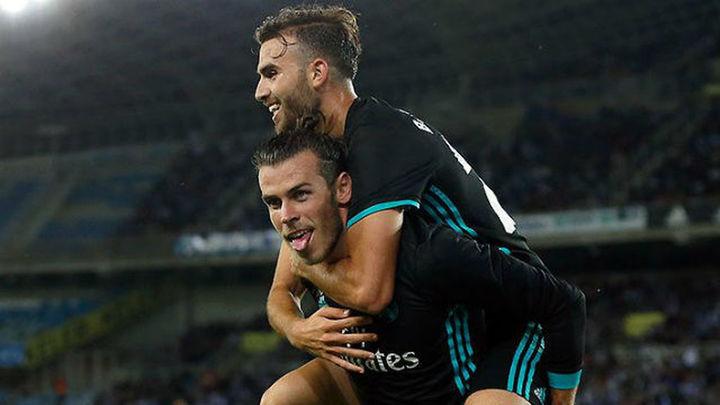 1-3. Mayoral y Bale enmiendan el rumbo del Real Madrid