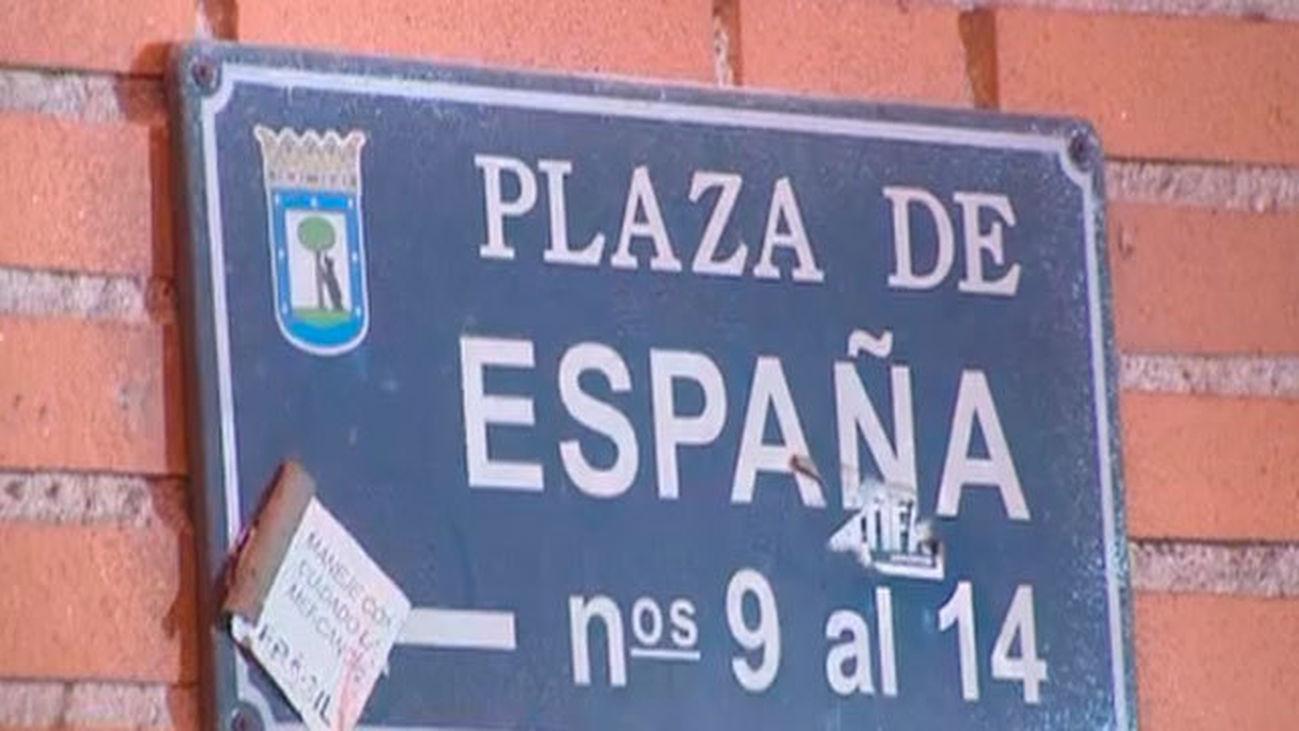 Crece el asentamiento en Plaza de España