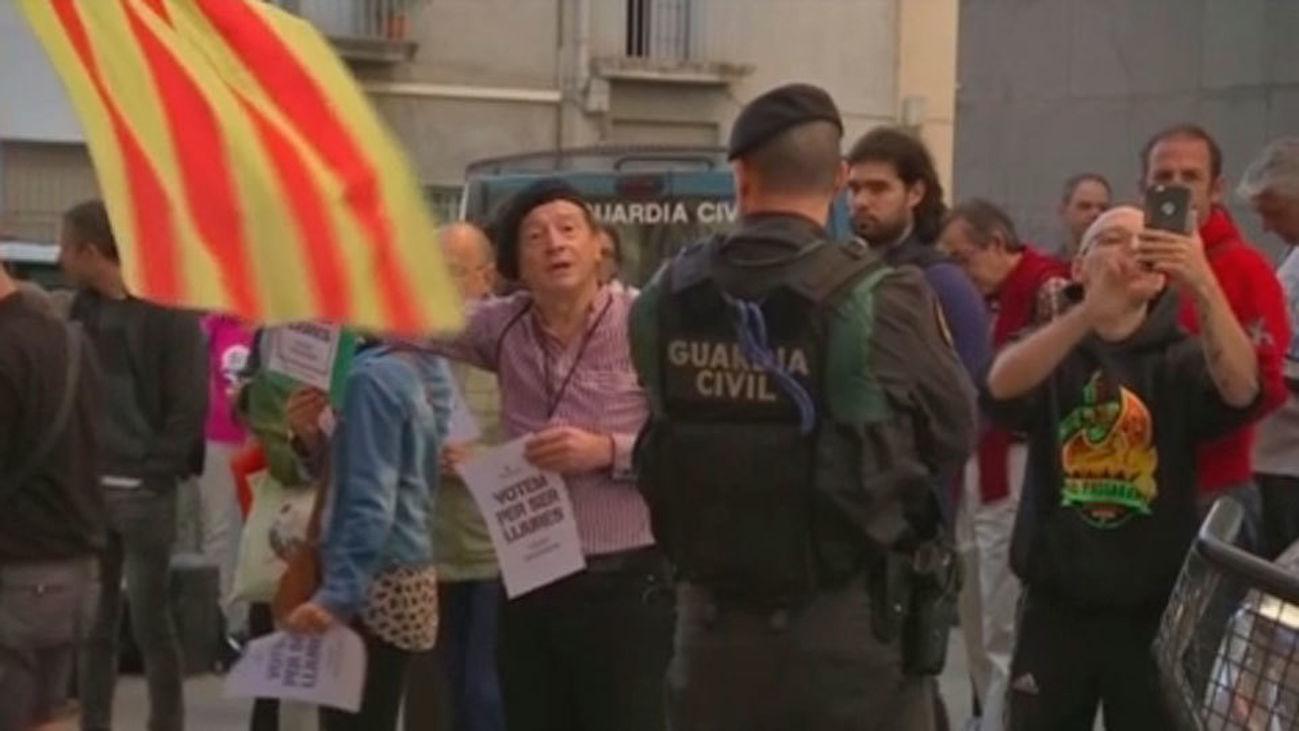 La Guardia Civil registra la sede de Unipost en Terrassa en relación al referéndum