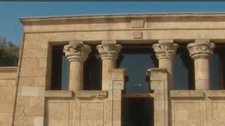 El templo de Debod ya se puede visitar desde este martes