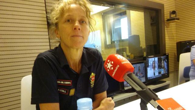 Entrevista a Annika Coll, Jefe de Bomberos de la Comunidad de Madrid, sobre el terremoto de México