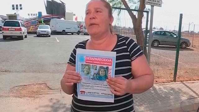 Buscando a Sandra Capitán