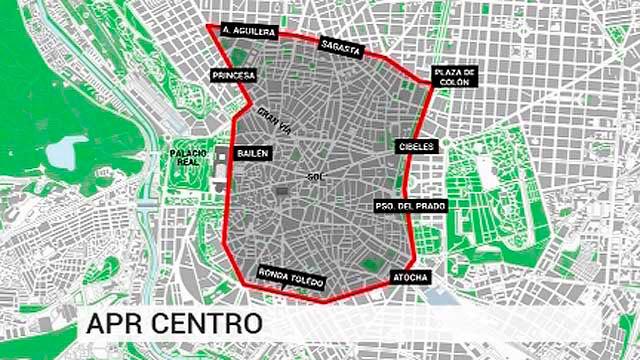 El área de prioridad residencial de Centro que se implantría en 2018