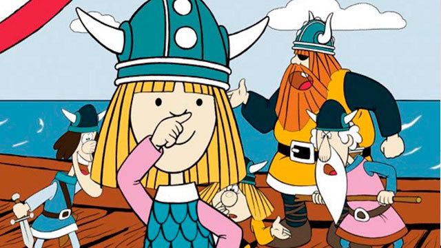 Laotra mini: Vicky el vikingo