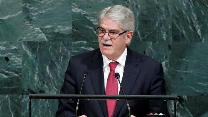 """Dastis critica en la ONU a quienes defienden una """"presunta legitimidad"""""""