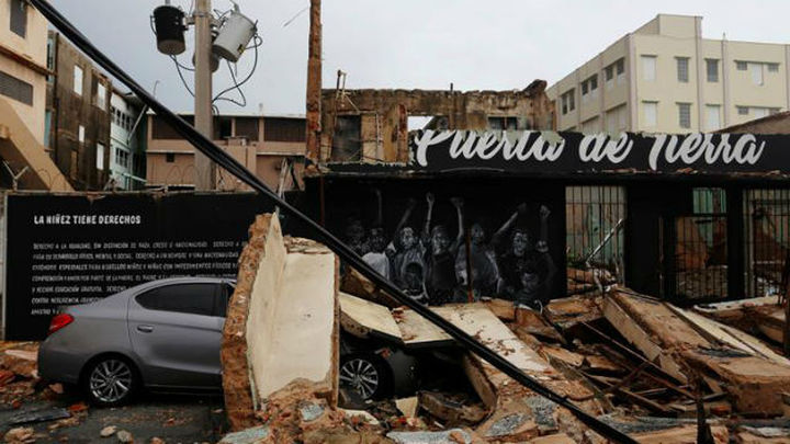 Sube a 12 el número de muertos en Puerto Rico por el huracán María
