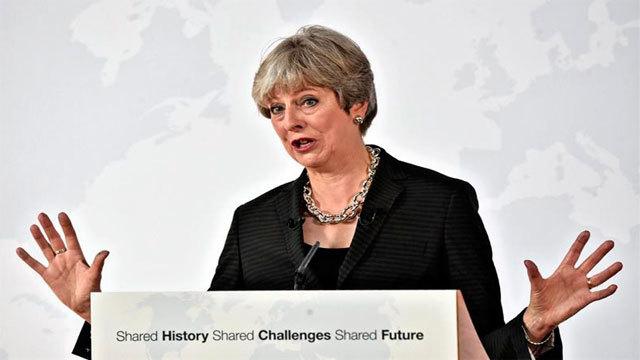 La primera ministra del Reino Unido, Theresa May